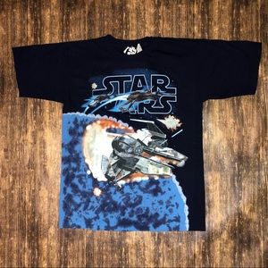 NEW Vintage Star Wars Tie Dye T-shirt